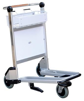 "Vestil LUG-B Nestable Multi-Use Cart with Bar Handle, Polyurethane Wheels, 550 lb. Load Capacity, 39"" Height x 26-1/2"" Width x 39-1/2"" Depth"