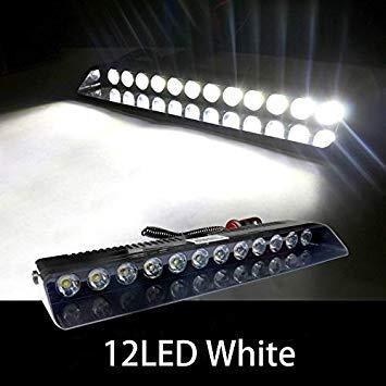 Uniqus RXZ Strobe Warning Light 12V 9 12 LED Car Truck Emergency