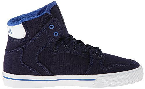 Supra Vaider Bleu garçon Baskets Navy mode Blue White zz87rwqdx