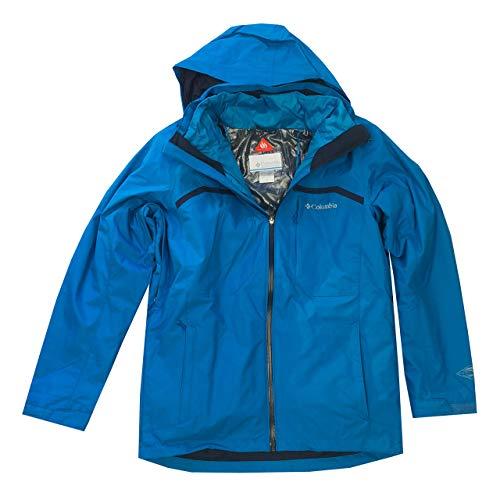 Columbia Mens Nordic Point II Omni-Heat Interchange 3 in 1 Jacket (M, Strong Blue) ()