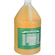 Bronner'S Magic Soaps Castile Soap Liquid Almond Oil 1 Gallon 128 Ounces