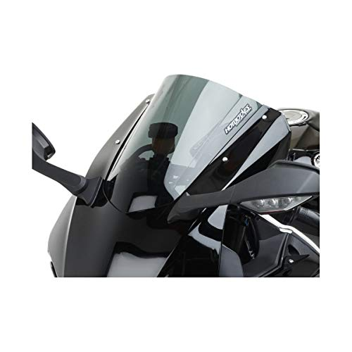 17-18 YAMAHA YZF-R6: Hotbodies Racing GP Windscreen (Dual Radius) (Dark Smoke)