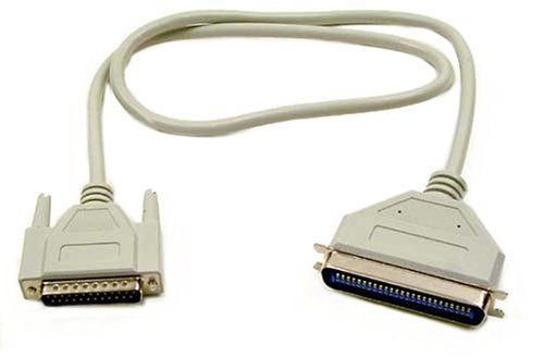 Belkin F2N954-06 6-Ft. SCSI System Cable; DB25M/CENT50M
