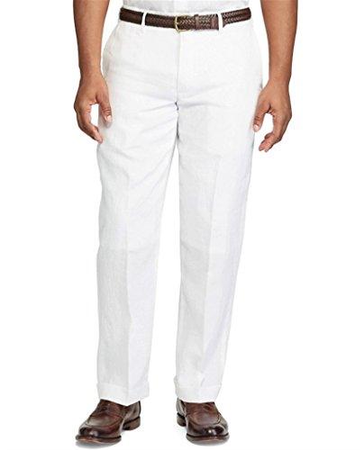 Polo Ralph Lauren Classic-Fit Linen Mens Pants (36W x (Ralph Lauren Classic Linen Pant)