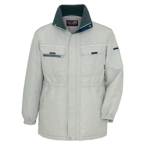 アイトス(AITOZ)防寒コート 防寒着ジャケット 制電防寒服az-9360 B00AKAJH4U LL|グレー グレー LL