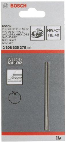 Bosch Pro Hobelmesser für Handhobel (40°, gerade, Hartmetall)