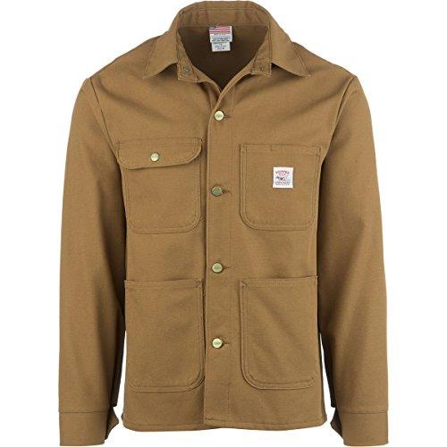 Pointer Brand Brown Duck Chore Coat - Men's Brown Duck, LT by Pointer