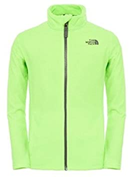 The North Face Snow Quest- Chaqueta con cremallera completa para chico/chica, color verde (safety green), talla X-Large: Amazon.es: Deportes y aire libre