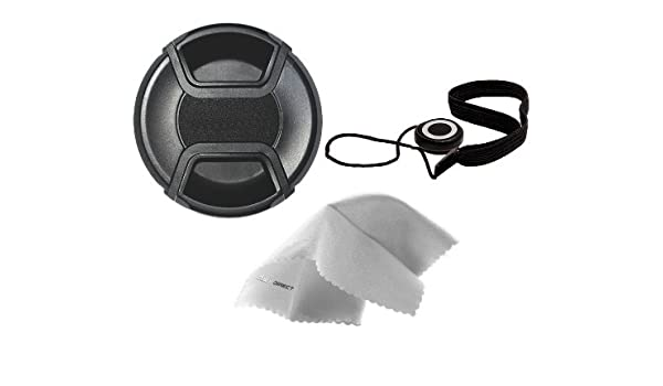 + Lens Cap Holder Nwv Direct Microfiber Cleaning Cloth. Digital Nc Nikon D3100 Lens Cap Center Pinch 77mm