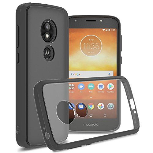 Moto E5 Play Clear Case, Moto E5 Cruise Clear Case, CoverON [ClearGuard Series] Slim Fit Phone Cover with Clear Hard Back and TPU Bumpers for Motorola Moto E5 Play/Moto E5 - From Cheap Metro Phones Pcs