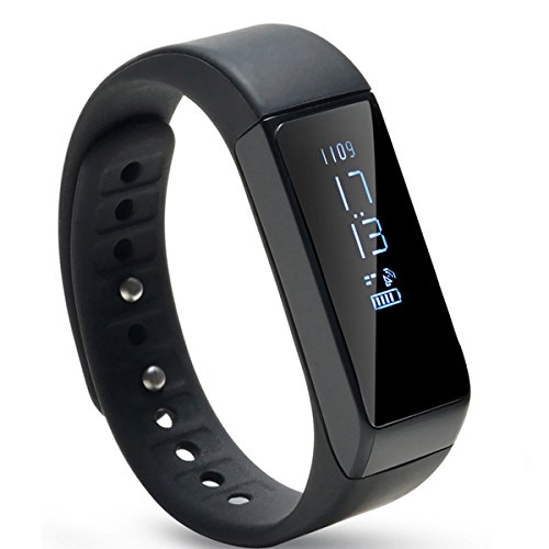 Image Waterproof Bluetooth Fitness Tracker Bracelet Smart Wrist Watch Band for iphone Android w/Touch Screen