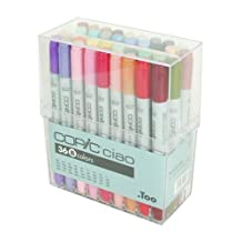 Copic I36B Ciao Markers Set B, 36-Piece by Copic Marker