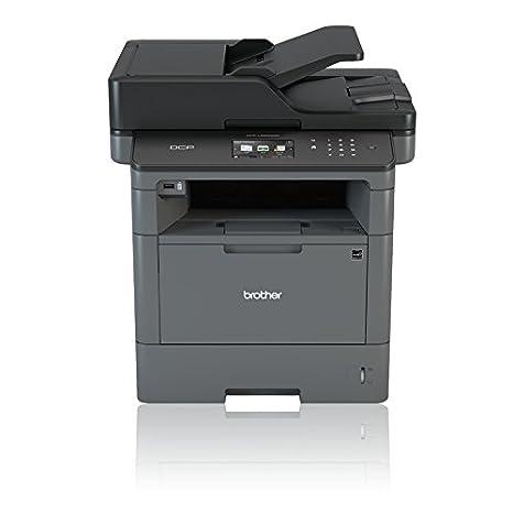Brother DCP-L5500DN - Impresora multifunción láser monocromo (bandeja 250 hojas, 40 ppm, USB 2.0, memoria de 256 MB) color gris carbón