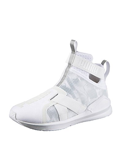 Puma Fierce Strap Swan W Calzado blanco, plateado