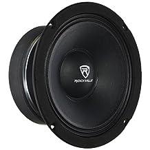 Rockville RM68PRO 6.5-Inch 8 Ohm SPL Mid-Bass Midrange Car Speaker 105dB 200w-Set of 1