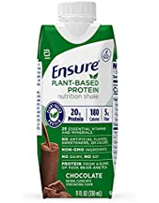 Ensure 100% Plant-Based Protein Vegan Nutrition Shakes with 20G Fava Bean and Pea Protein