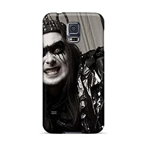 Protector Cell-phone Hard Cover For Samsung Galaxy S5 With Customized High Resolution Cradle Of Filth Band Series AlissaDubois