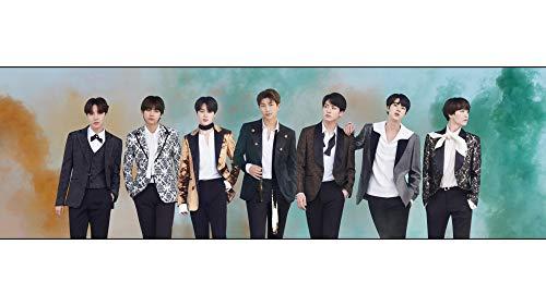 VT Cosmetics x BTS Photo Poster (Size:594x210mm) Fanart Bangtan Boys for The BTS A.R.M.Y.