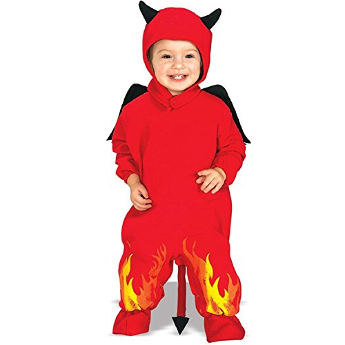 Lil' Devil Costume Size Toddler 1-2 Years -