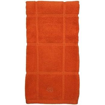 Calphalon Textiles Terry Kitchen Towel, Mandarin