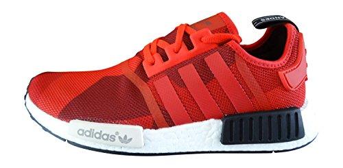 Adidas Originals Nmd R1 Chaussures Baskets Sneakers Pour Hommes (uk 10 Us 10.5 Eu 44 2/3, Rouge Camo Graphique S79164)