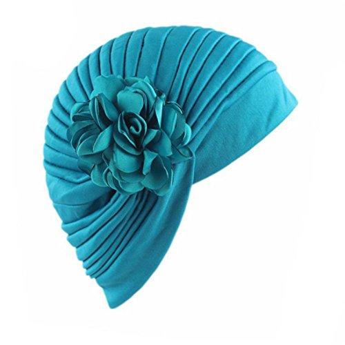 Elevin(TM) Women Summer Flower Indian Stretch Turban Hat Cancer Chemo Cap Hair Scarf Headwrap