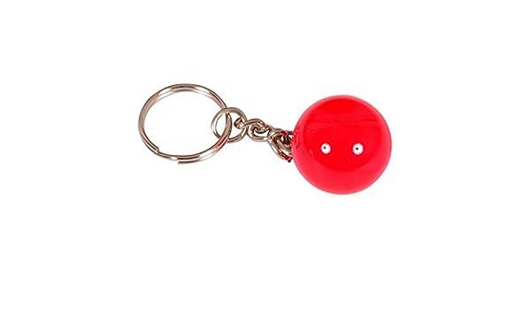 Llavero bola billar roja 25mm: Amazon.es: Deportes y aire libre