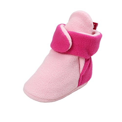 Leather Pram Shoes For Babies - 6
