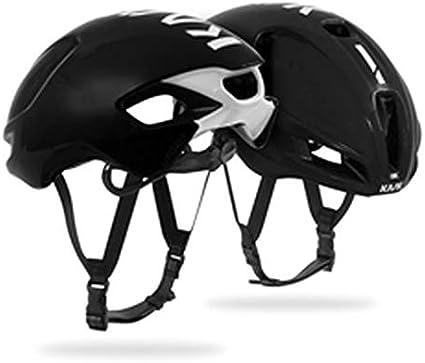 Large Kask Utopia Fahrradhelm Erwachsene Black White Unisex
