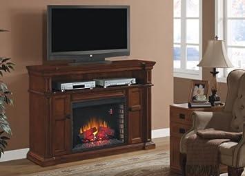 Amazon.com: ClassicFlame Wyatt Electric Fireplace TV Media Console ...