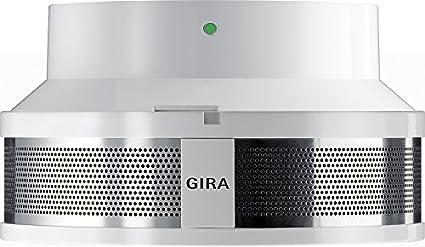GIRA 233702 - Alarma de humo con alarma de calor, base de 230VAC y red