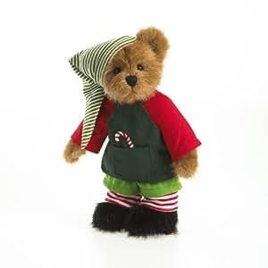 Enesco Boyds Plush 8-Inch Santa's Workshop Elf Bear
