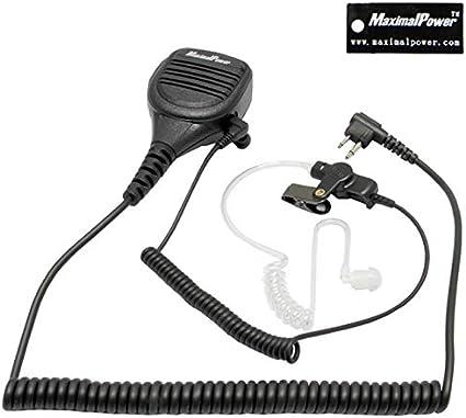 Speaker Mic for Motorola SP10 SP21 SP50 EP450 GP68 GP88 GP300 GP308+Listen Only