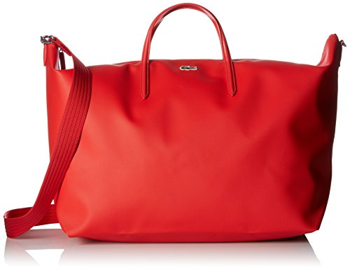 Lacoste L.12.12 Concept Travel Shopping Bag, High Risk Red