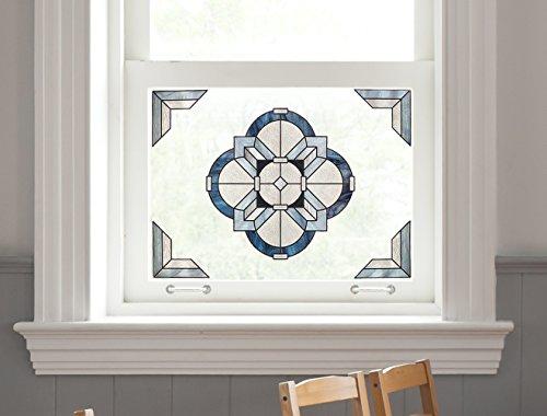 Artscape Newport Slate Window Accent 12'' x 12'' by ARTSCAPE (Image #4)