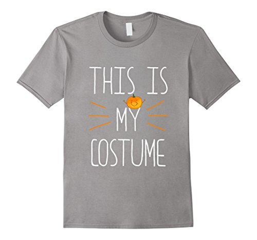 [Mens This Is My Costume Funny Halloween T Shirt XL Slate] (Classy Halloween Costumes 2017)