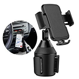 Car Cup Holder Phone Mount Universal Adjustable Cradle Phone Holder for Car iPhone Xs/Max/X/XR/8/8 Plus,Samsung Note 9…