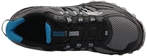 para Zapatillas Tr11 Saucony Negro 9 Blu Blk Deporte Excursion de Hombre qwXRRPE