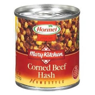 HORMEL MARY KITCHEN CORNED BEEF HASH HOMESTYLE CANNED 14 OZ EACH (1)