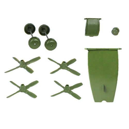 TimMee Replacement Parts for Hercules C130 Cargo Airplane Green - Made in USA