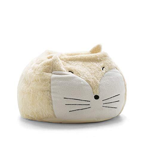 Big Joe Lux 7690FOX Wild Bunch Fox, Super Soft Plush Bean Bag, ()