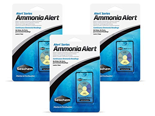 - Seachem Ammonia Alert 1 Year Monitor (3 Pack)