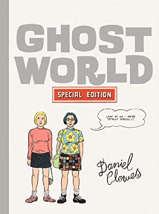 book cover of Ghost World