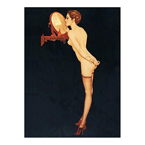 Alberto Vargas Gallery Art Pin-Up Girls Poster Art Print Wall Decor 24x36 Inches Photo Paper Material Unframed