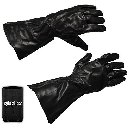 Star Wars Darth Vader Sith Lord Adult Size Costume Gloves + Coolie (Vader Gloves)