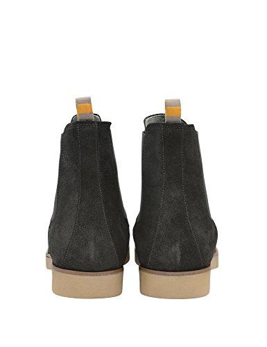 Frank Wright Mens Dutch Mens Black Suede Boots Suede nero