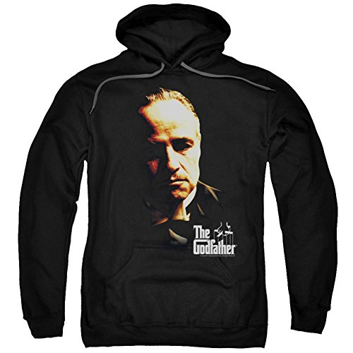 Hoodie: Godfather- Don Vito Pullover Hoodie Size L
