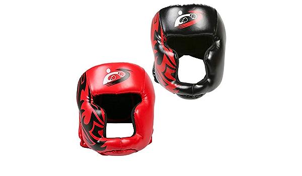 sparring aficionados competici/ón Casco de entrenamiento de boxeo con alta absorci/ón de impactos protecci/ón de cabeza para boxeo kickboxing protecci/ón de cabeza ajustable