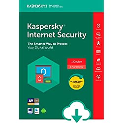 Kaspersky Internet Security 2018 | 1 Device | 1 Year [Download]