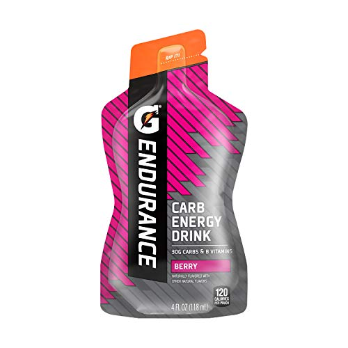 Gatorade Endurance Carb Energy Drink, Berry, 4 Ounces (Pack of 10)